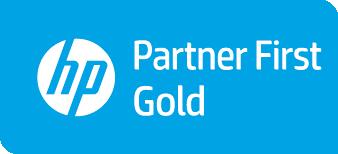 Logo HP partner gold first