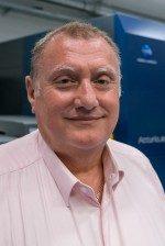 Colin Osborne MBE, responsable de la gestion des couleurs, Services marketing de Konica Minolta
