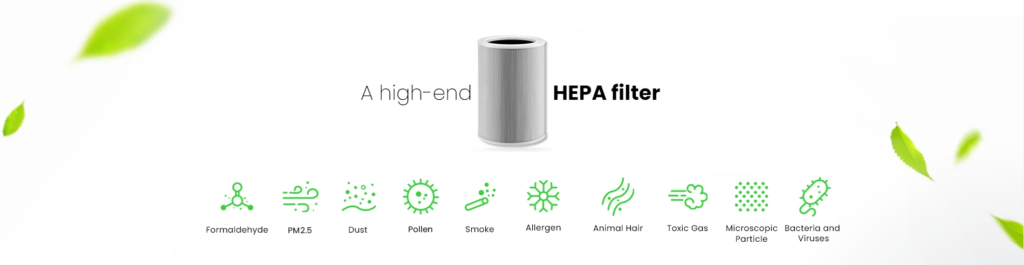 explications filtre HEPA