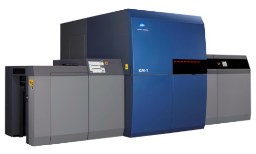 machine d'impression de production AccurioJet KM-1