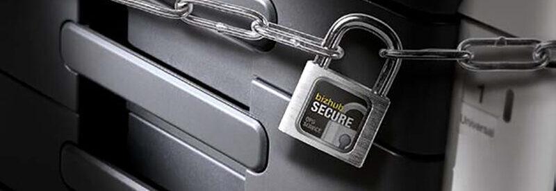 Protection de données et sécurité intelligente avec Bizhub Secure