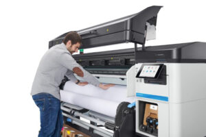 chargement avant HP Latex 700w 800w